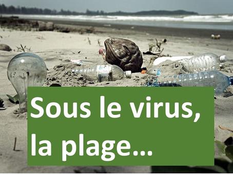 Sous le virus, la plage ! Appel aux communes du littoral