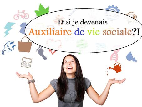 Découvrez le métier d'auxiliaire de vie sociale !