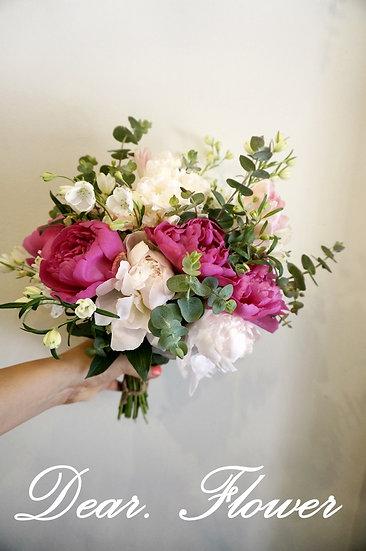 꽃의여왕 작약 꽃다발