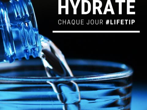 L'importance de l'hydratation