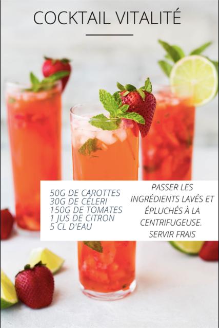 Cocktail vitalité