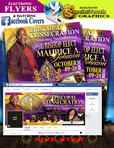 E-Flyers & Facebook Profile Cover