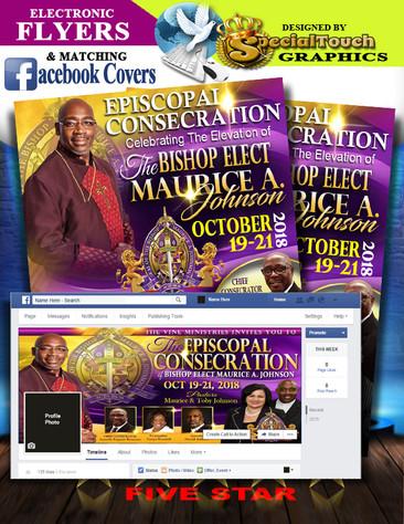E-Flyers & Facebook Profile Cover