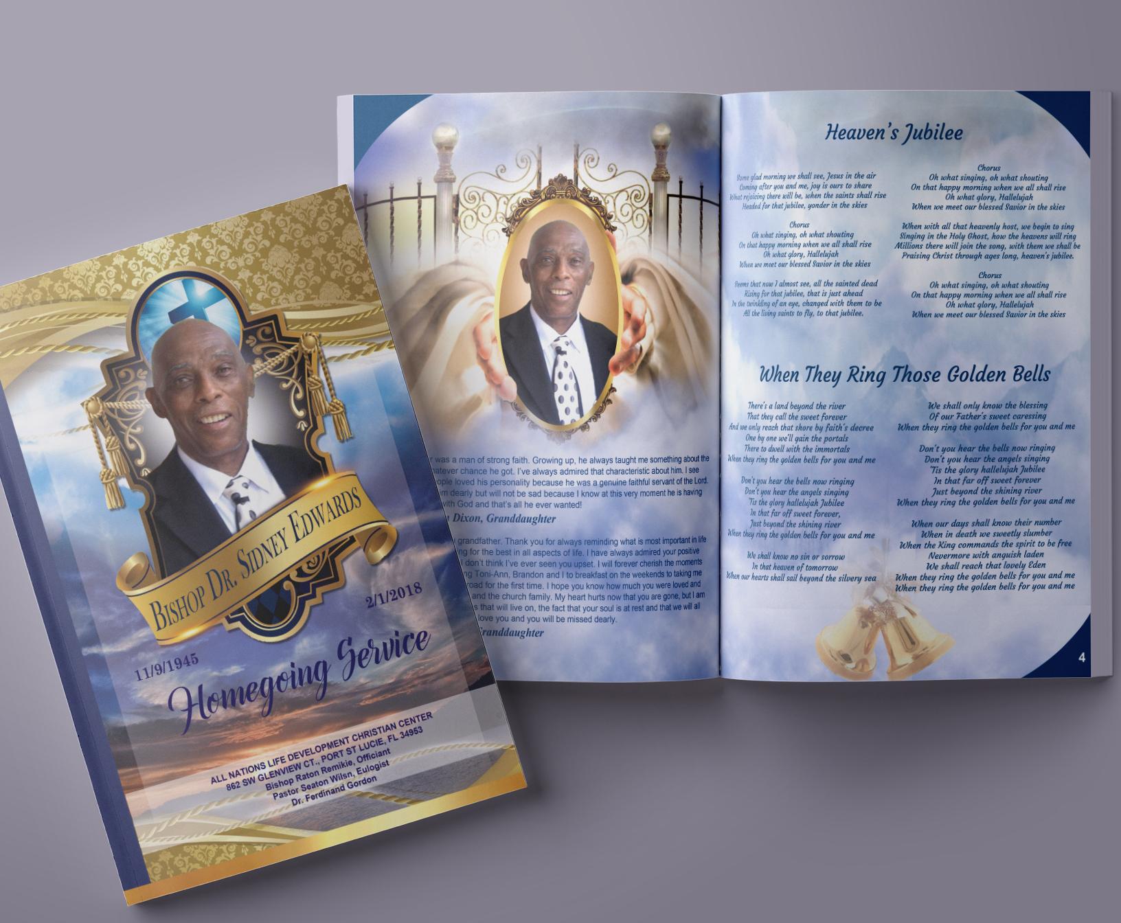 Memorial Booklets