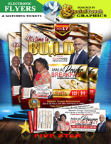 E-flyers & Event Tickets
