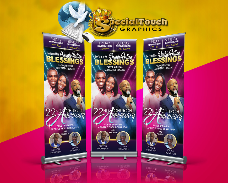 Rollup Retractable Banner Stands