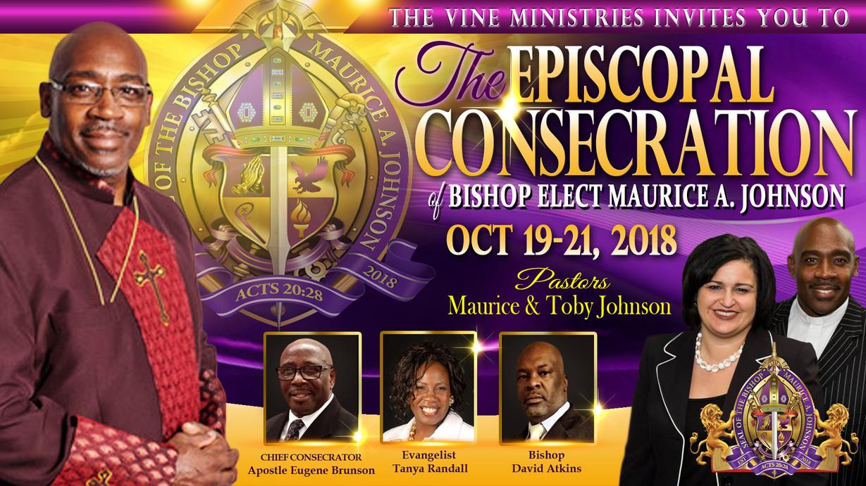 Consecration of Bishop Flyers