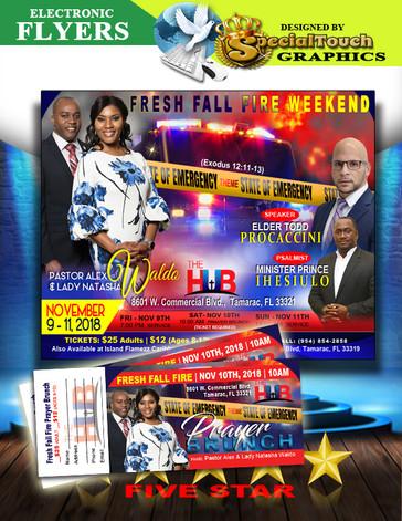 E-flyer & Event Tickets
