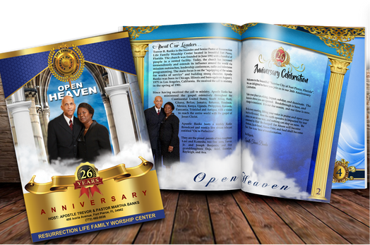 Church Anniversary Booklets
