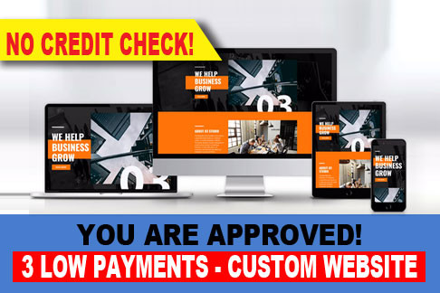 No Credit Check Pre-Approved Websites