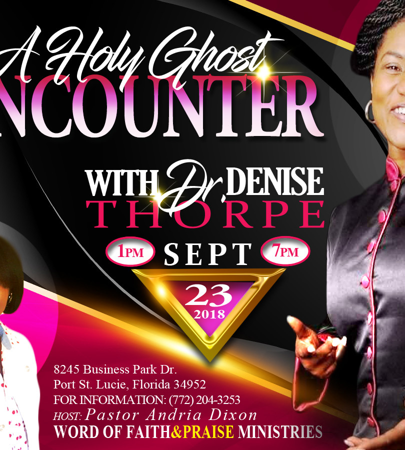 A Holy Ghost Encounter_Dr Denise Thorpe_