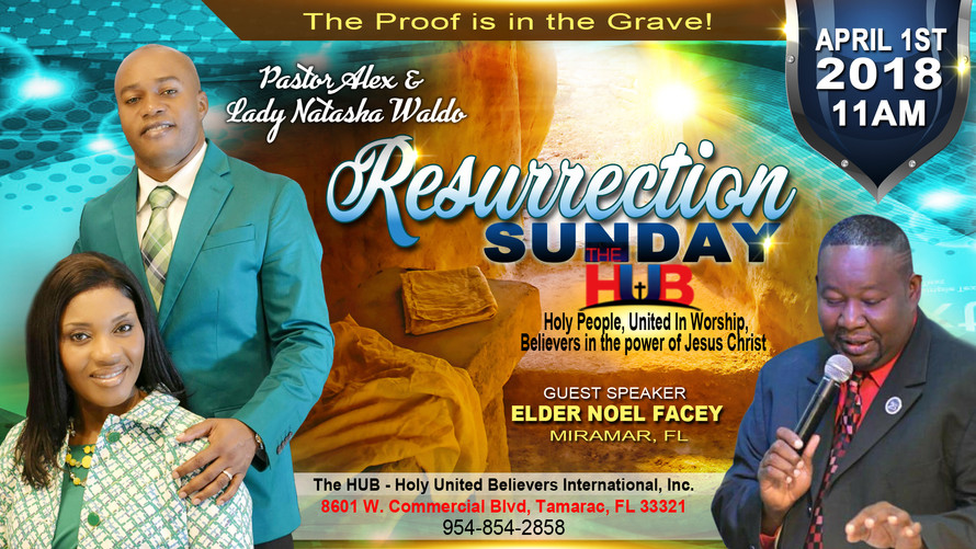 Resurrection Sunday Flyers