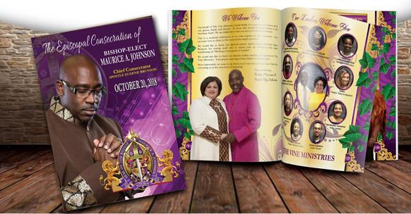 Bishop Installation Booklets