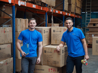 Furniture Box entrepreneurs, Dan and Monty, tell us why businesses 'giving back' is so important