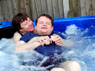 Trust donation helps Rother residents buy hot tub