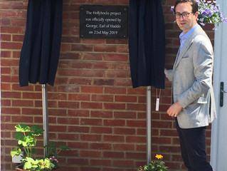 New supported living project, Hollyhocks, officially opens its doors