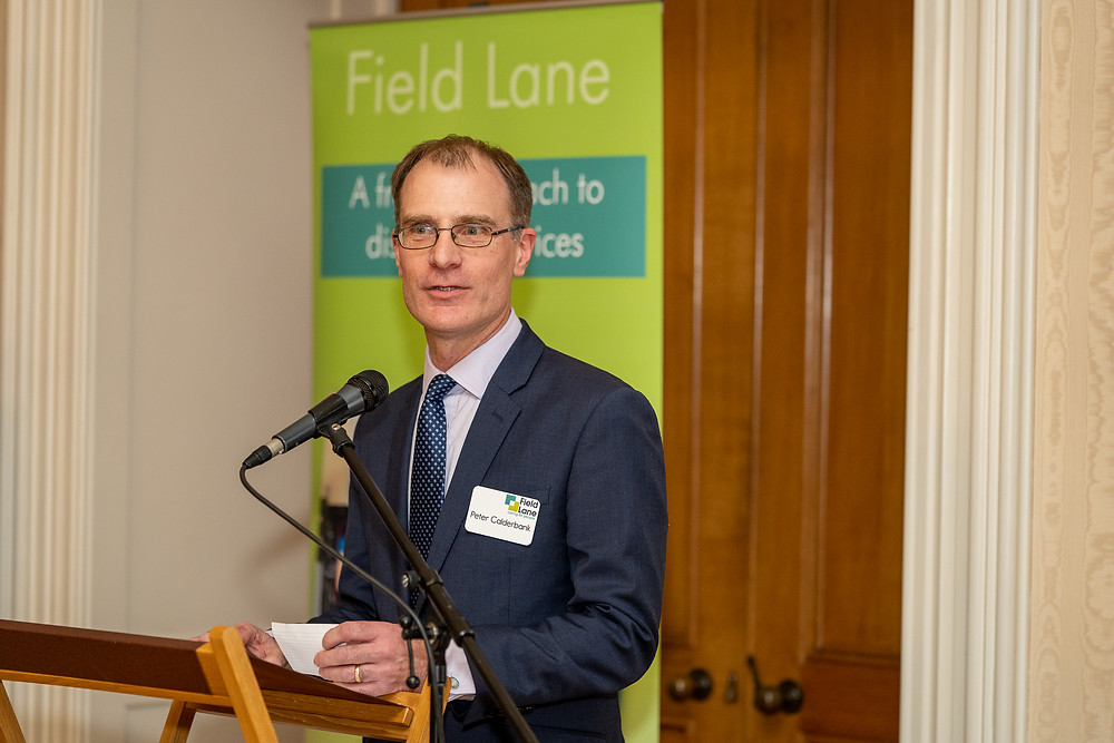 Peter Calderbank, Chief Executive of Field Lane