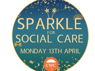 Put on your sparkles and show your support for care workers
