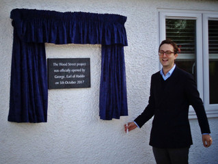 Official opening of Merstham project