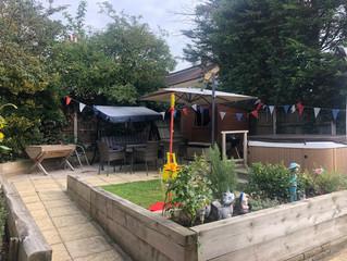 Seeking sanctuary in the garden