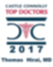 Castle Connolly Top Doctors 2017 Thomas Hirai, MD