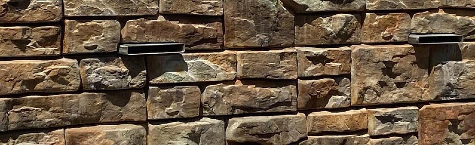 Recon Block Wall Private Residence  Riverton, Utah 2019