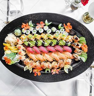 Maki & Sushi Platte_2