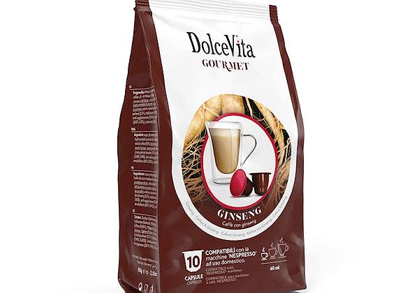 Ginseng Dolce Espresso - Nespresso Compatible
