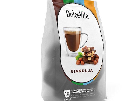 Gianduja (Chocolate Hazelnut Latte) - Nespresso Compatible