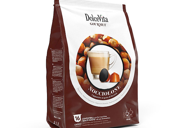 Nocciolone(Hazelnut Latte) - Dolce Gusto Compatible