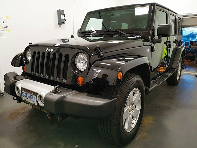 3 Step Paint Correction on Jeep Wrangler