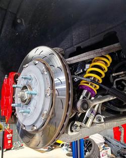 _kw_suspension V3 installed on corvette