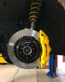 Brake just installed on BM