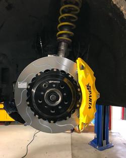 Brake just installed on BM