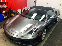 3 step paint correction on F430