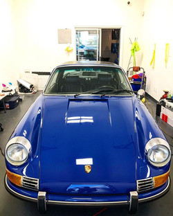 Two Step Paint Correction on 1969 Porsch