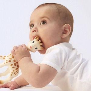 théo bébé sophie la girafe