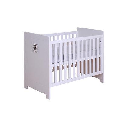 Lit bébé Anaïs 70x140cm blanc