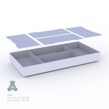 Léo Bed Drawer for 70 x 140 cm Bed