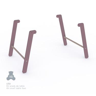Léo table legs kit