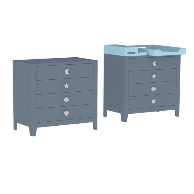 Lili large chest of drawers
