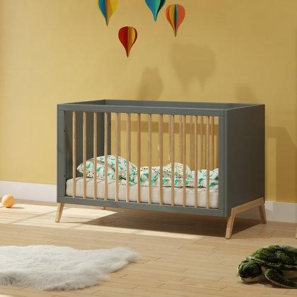 Lit bébé évolutif Marélie 60 x 120 cm Silex