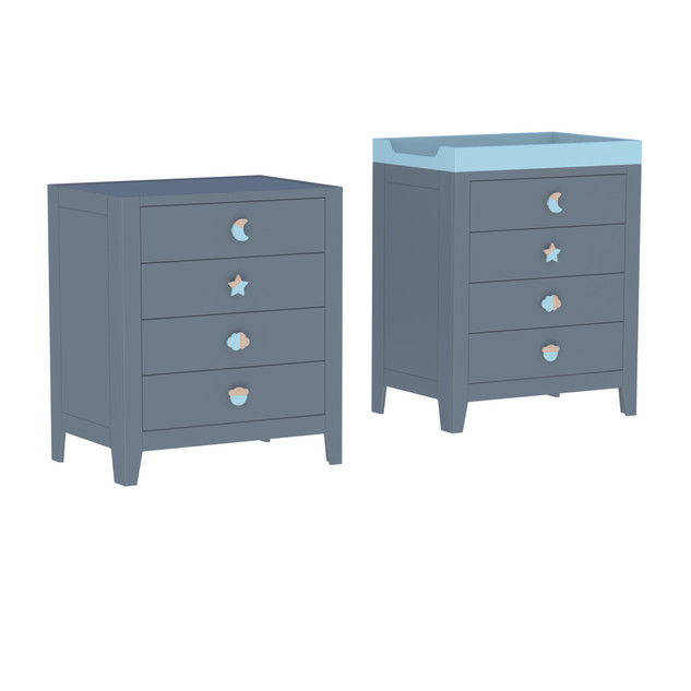 Lili small chest of drawers
