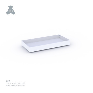 Léo bed drawer for 60 x 120 cm bed