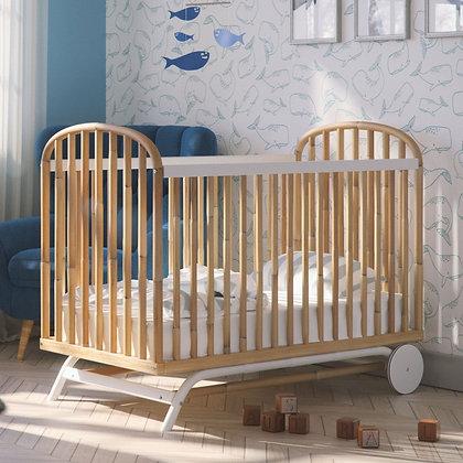 Lit bébé en rotin Delphy 60 x 120 cm