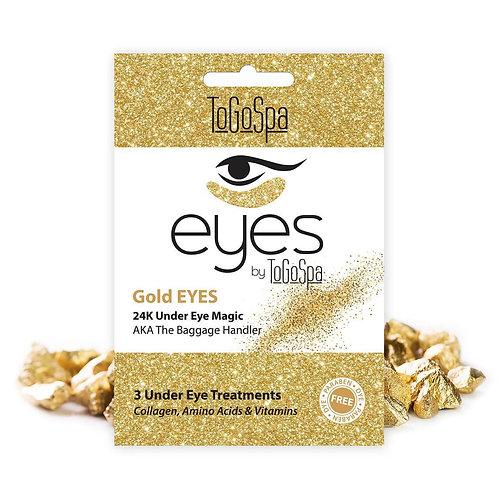 Gold Eyes AKA The Baggage Handler (3 treatments)