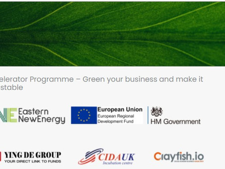 The European Union Regional Development Fund Accelerator organized by CIDAUK was successfully launch