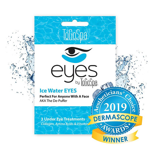 Ice Water eyes AKA The De- Puffer (3 treatments)