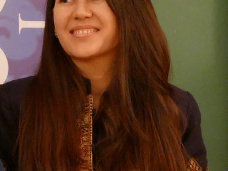 Muzhgan Haydary : membre du mois d'octobre