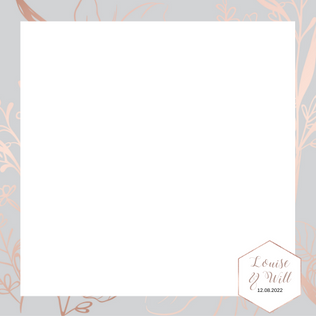 Copy of rose Gold Grey 4x4  - 6x4 photo